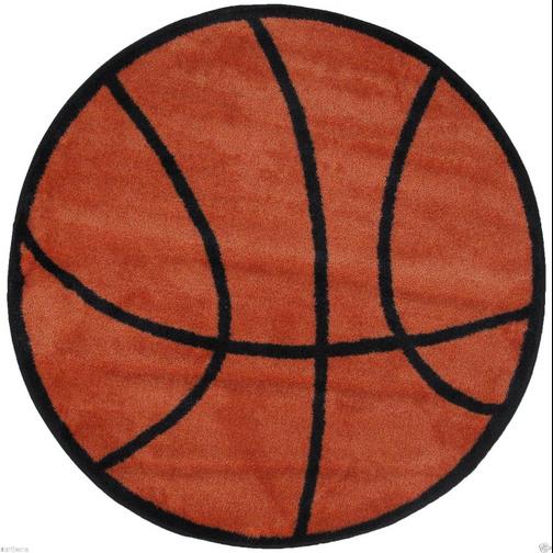 Basketball Theme Rug 39inch