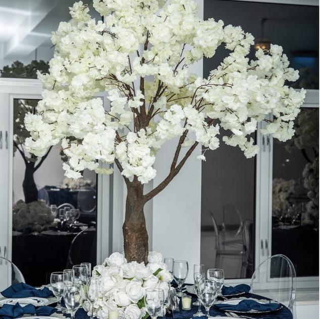 White Blossom Tree 6ft Tall $350
