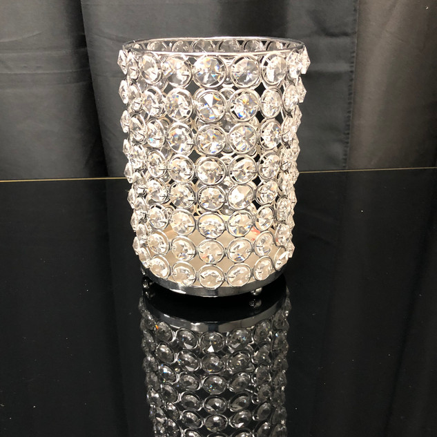 Candle Holder Crystals $15