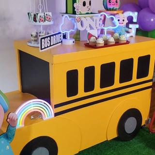 Coco Melon Bus Table