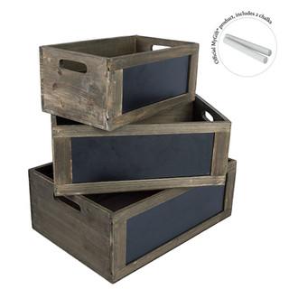 Crates Chalkboard Set