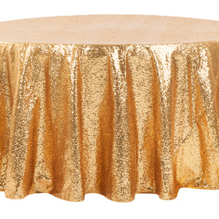 Sequin Tablecloth Gold