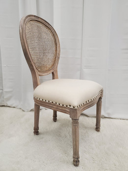 Dining Chair Wood White