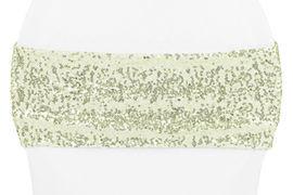 Ivory Sequin Sash
