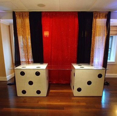 Theme Casino Dice Table