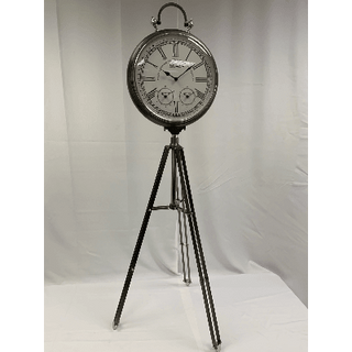 Clock with Tripod Stand 5ft Tall