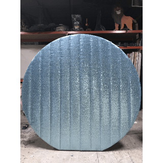 Wall Round Sequin Baby Blue