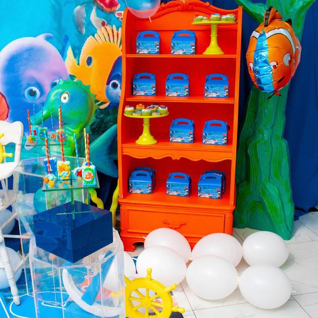 Cabinet 4 Shelf Draw Bottom