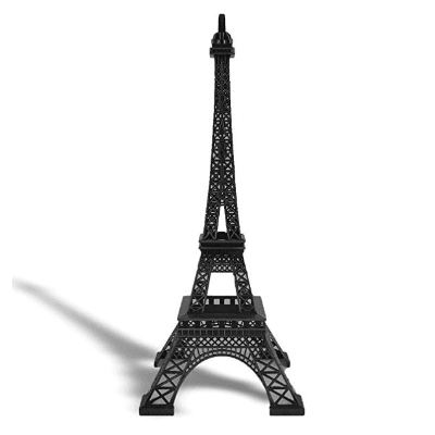 Eiffel Tower Centerpiece 25inch Black