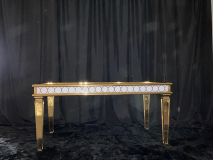 Sweetheart Table Gold White
