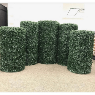 Grass Round Columns