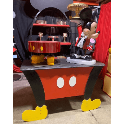 MICKEY MOUSE PANTS TABLE