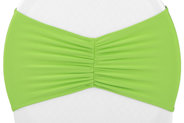 Apple Green Spandex Sash