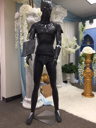 Black Panther Statue Life Size