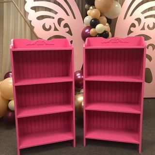 Cabinet 4 Shelf Wainscot