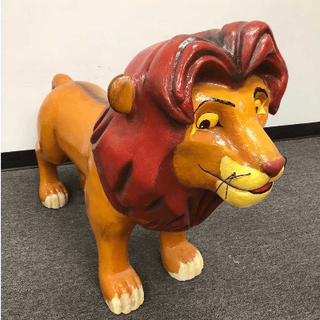 Lion King 3D Simba Floop Prop