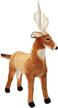Winter Stuffed Animal Deer