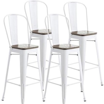 Bar Stools Metal White