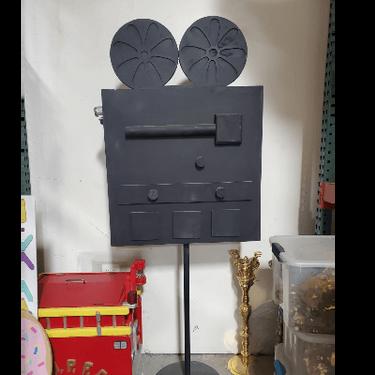 Floor Prop Movie Camera