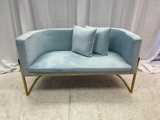 Velvet Lounge Baby Blue 52x26