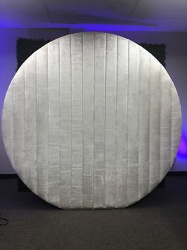 Velvet Round Ivory Wall