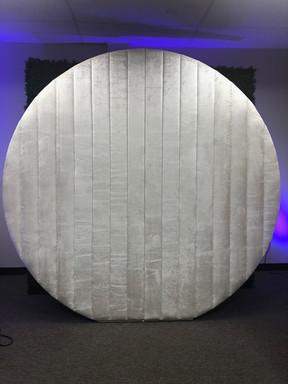 Wall Round Velvet Ivory