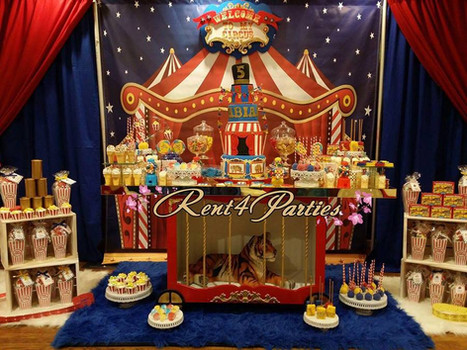 Theme Circus_Carnival Tiger Table