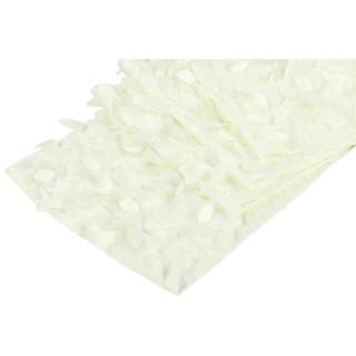 Leaf Petal Table Runner Ivory