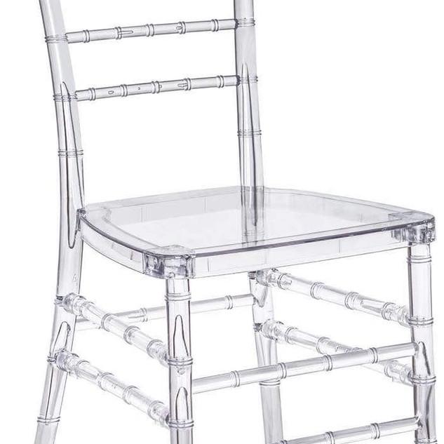 Dining Chair Chiavari Clear $25