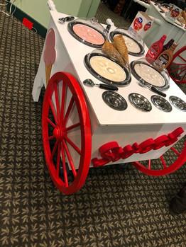 Theme Food Ice Cream Cart
