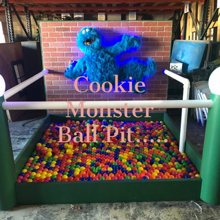 Cookie Monster Ball Pit