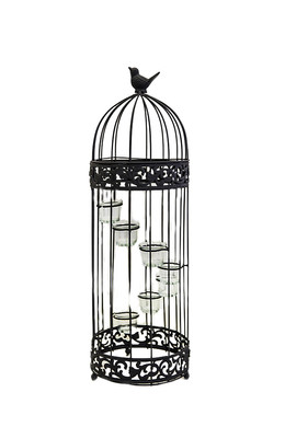Birdcage Staircase Candle Stand 28 inch