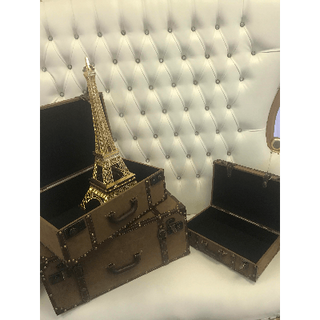 Vintage Suitcase Med
