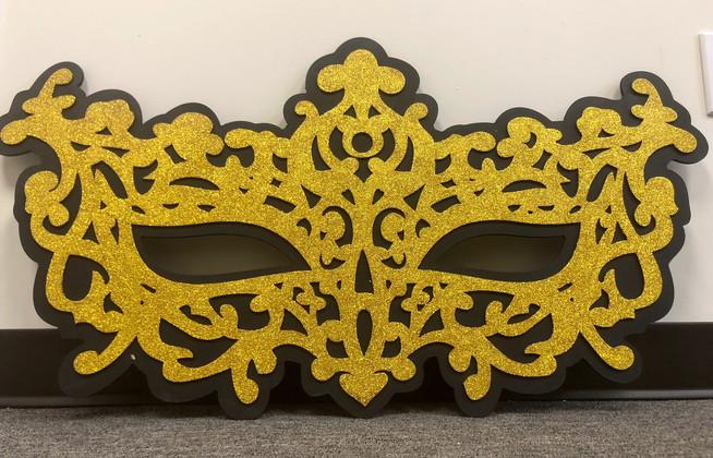 Masquerade Gold Black