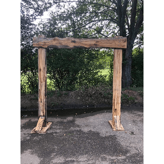 Rustic Wooden Arch