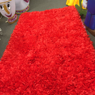 Dominican Rug 5x8 Red