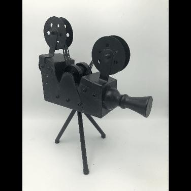 Table Prop Movie Camera
