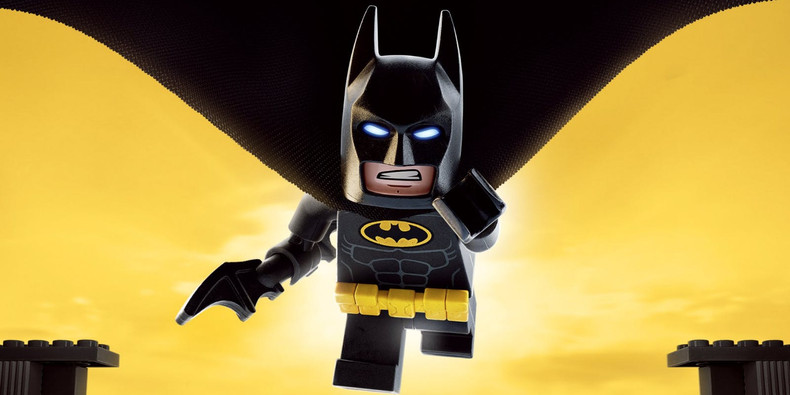 Vinyl Backdrop Lego Batman