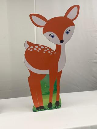 Deer Wooden Standup Prop