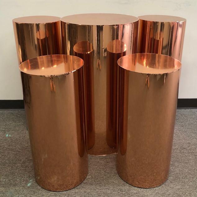 Cylinder Rose Gold