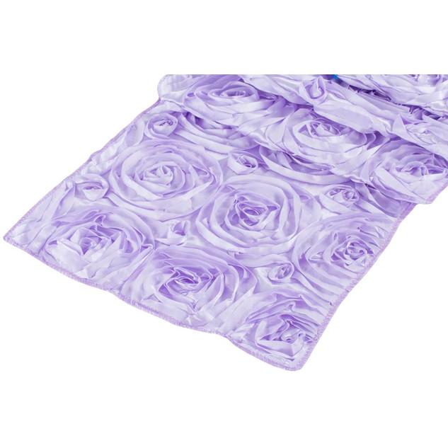 Rosette Table Runner Lavender