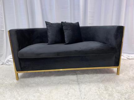 Velvet Lounge Black Gold