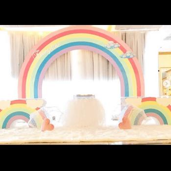 Rainbow Arch Backdrop