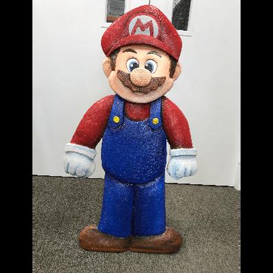 3D Standup Prop Mario