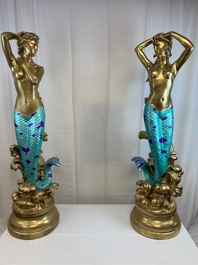 Mermaid Statues 5ft Tall