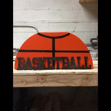 Basketball Dessert Stand
