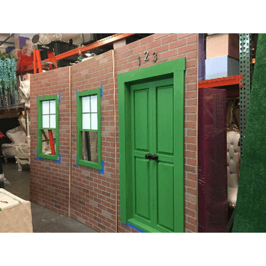 Sesame Street City Wall