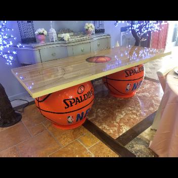 Basketball Theme Table