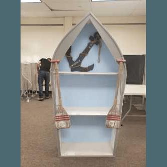 Cabinet Boat Shelf