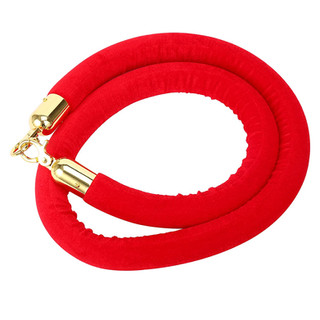 Stanchion Rope Red Gold
